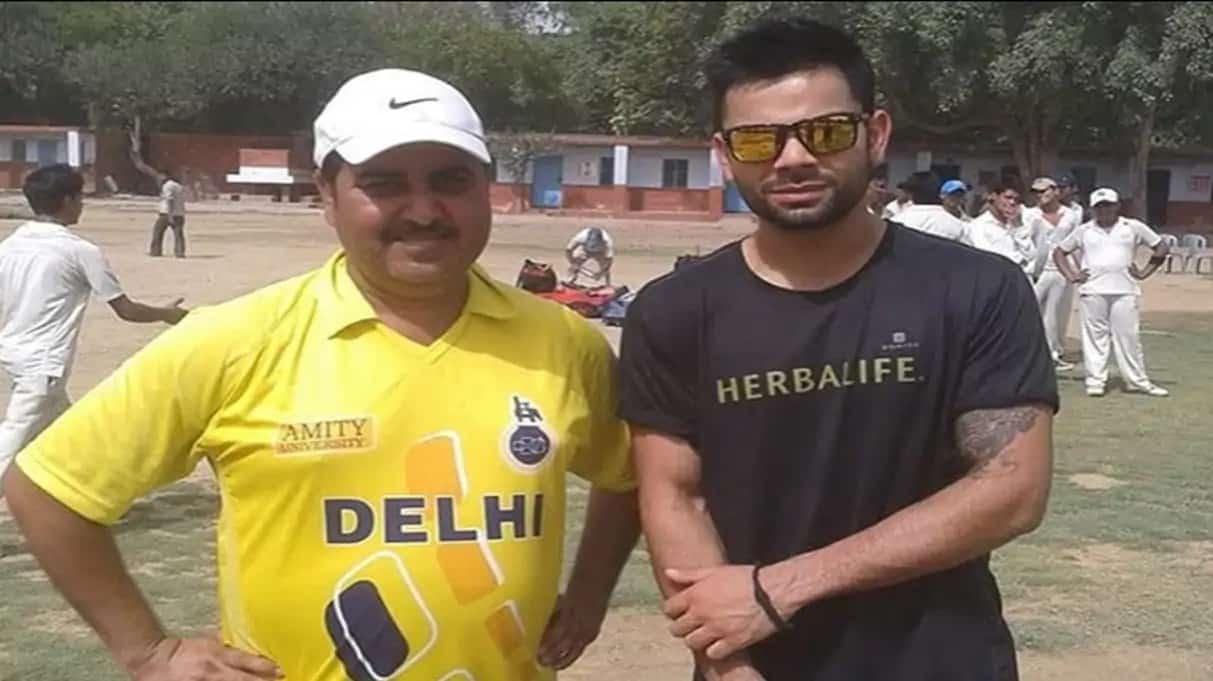 People Forget Virat Kohli is Human, Not a Machine: Coach Rajkumar Sharma