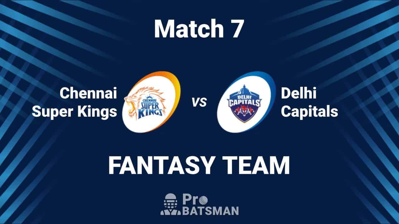IPL 2020: CSK vs DC Dream11 Team Chennai Super Kings vs Delhi Capitals - Playing XI, Captain, Vice-Captain, Pitch Report – September 25, 2020