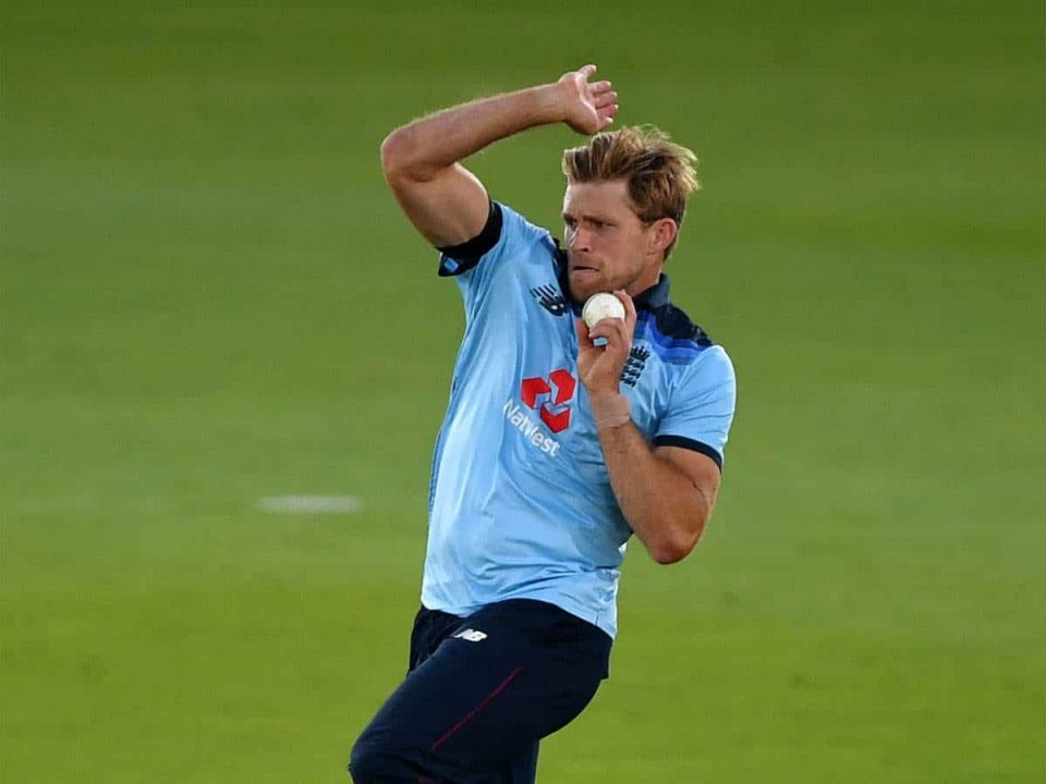 England All-rounder, David Willey Tested Positive for Covid-19