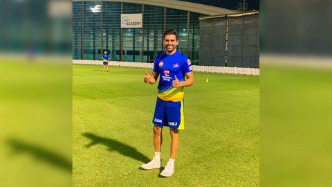 IPL 2020: CSK Pacer Deepak Chahar Returns to The Ground After Defeating Corona