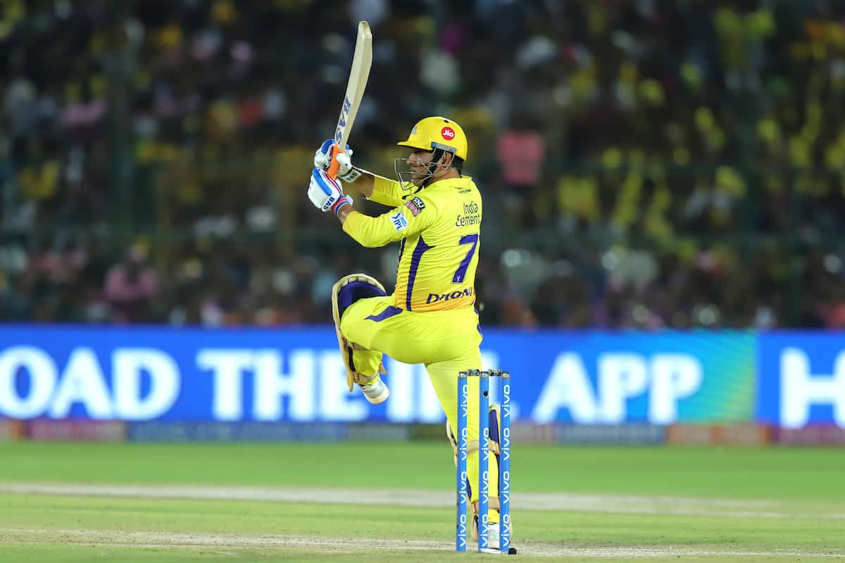 IPL 2020 RR vs CSK: Mahendra Singh Dhoni Explains Why He Came Out To Bat At Number 7