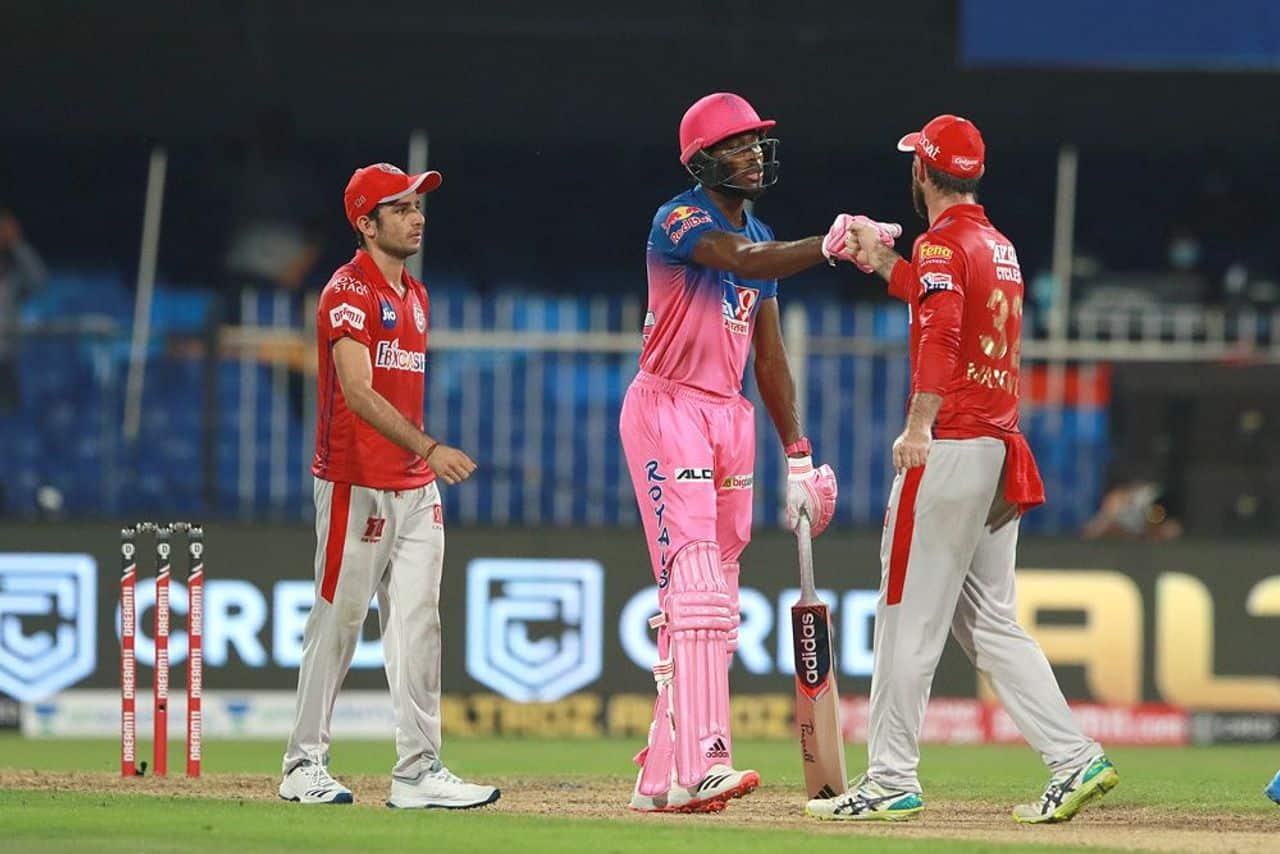IPL 2020: RR vs KXIP, Rajasthan Royals Snatch Victory from Kings XI Punjab's Jaw, Rahul Tewatia's 5 Sixes in an Over