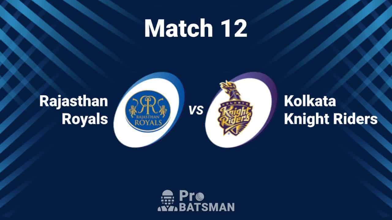 IPL 2020: Rajasthan Royals (RR) vs Kolkata Knight Riders (KKR) -- Match Details, Playing XI, Head to Head, Squads, Pitch Report – September 30, 2020