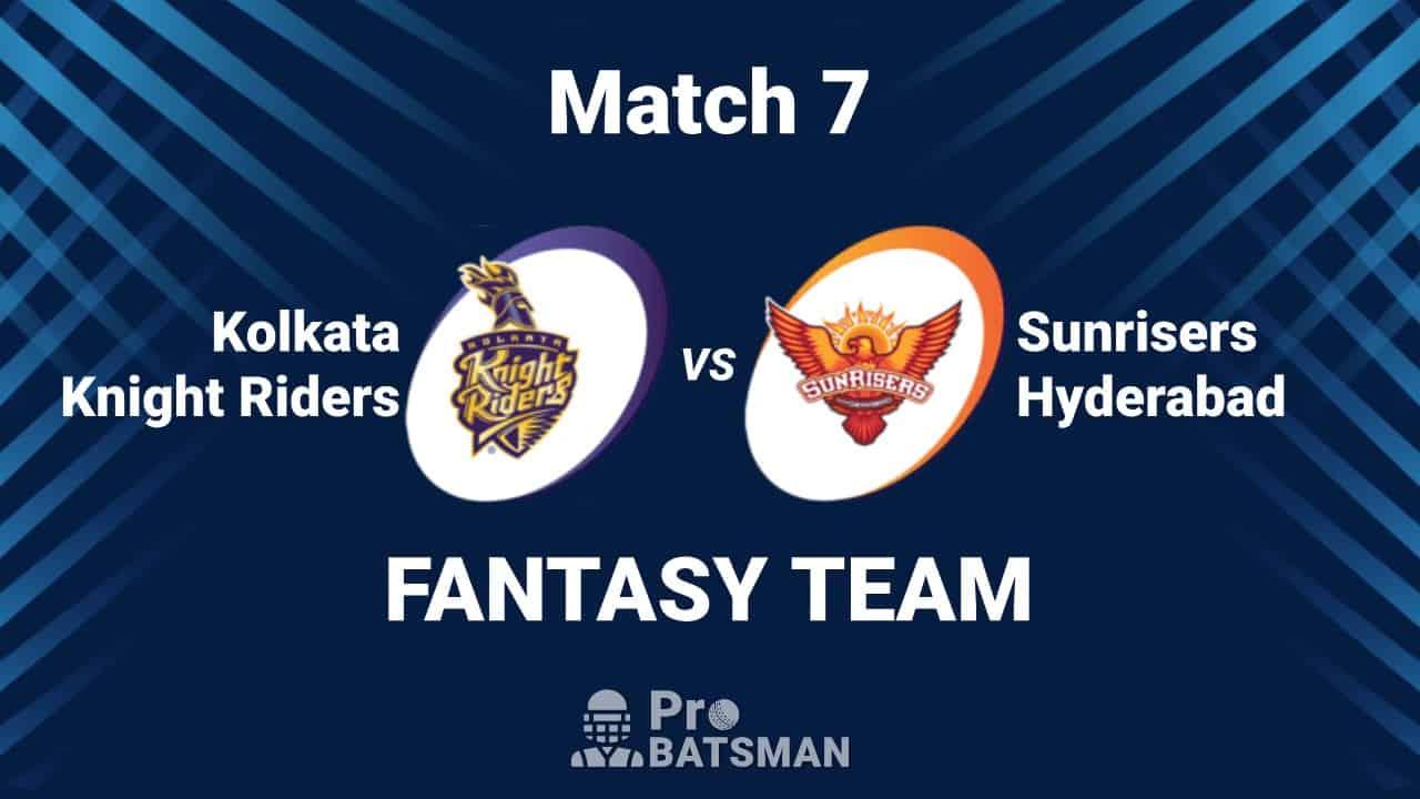 KKR vs SRH Dream11 Team IPL 2020 Kolkata Knight Riders vs Sunrisers Hyderabad - Playing XI, Captain, Vice-Captain, Pitch Report, Venue – September 26, 2020