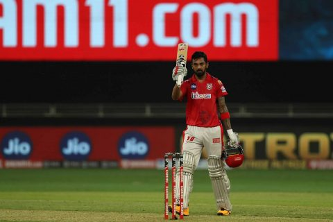 Kings XI Punjab's captain KL Rahul set 5 records in a single match