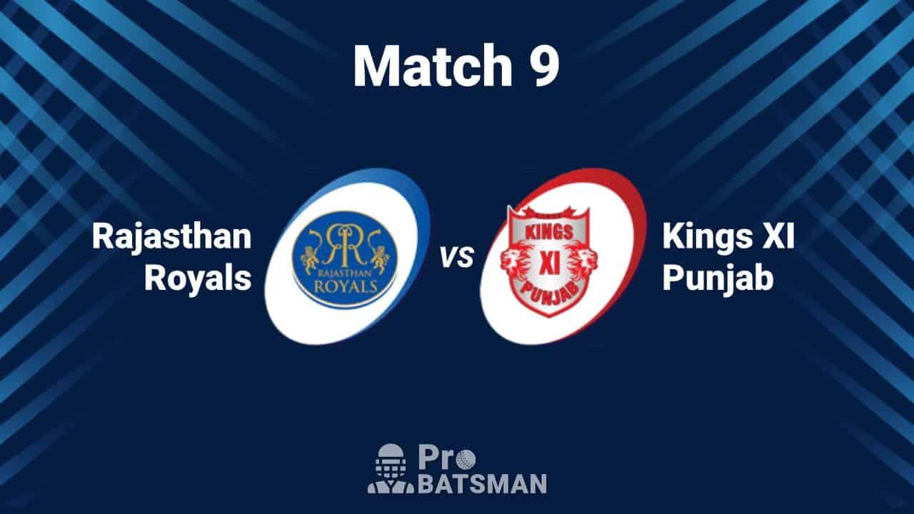 KXIP vs RR Dream11 Team IPL 2020 Kings XI Punjab vs Rajasthan Royals - Playing XI, Captain, Vice-Captain, Pitch Report – September 27, 2020