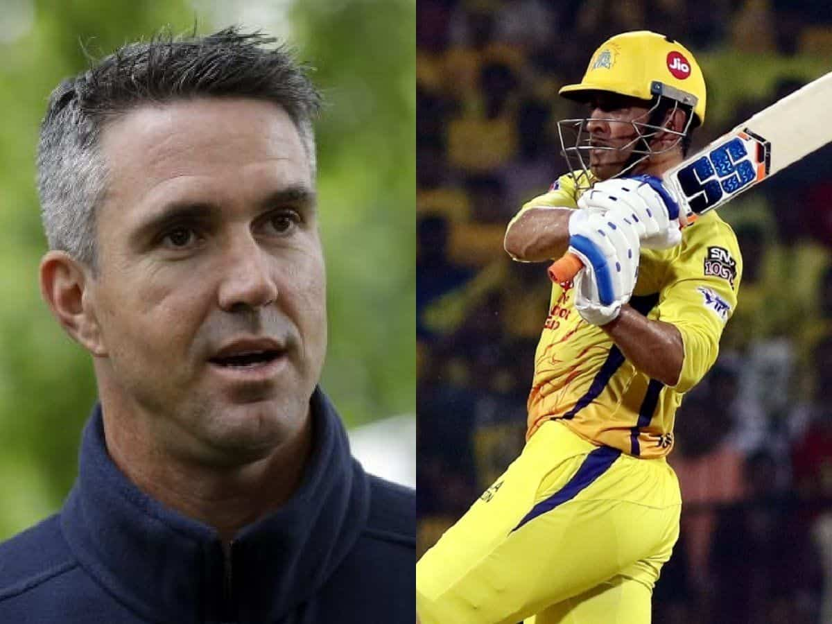 """""""I am not buying this nonsense"""", Kevin Pietersen Reacts to MS Dhoni's Batting Approach Against RR"""