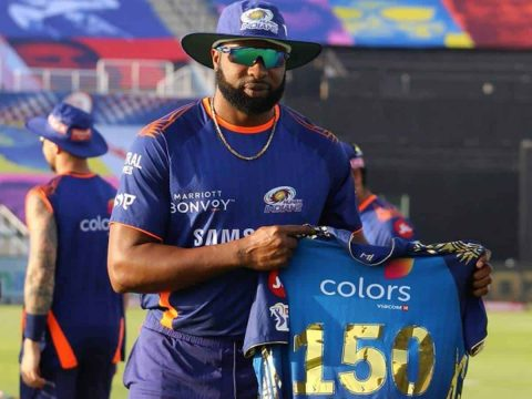 IPL 2020: Kieron Pollard Touched a Milestone, The Only Player to Complete 150 Matches for Mumbai Indians