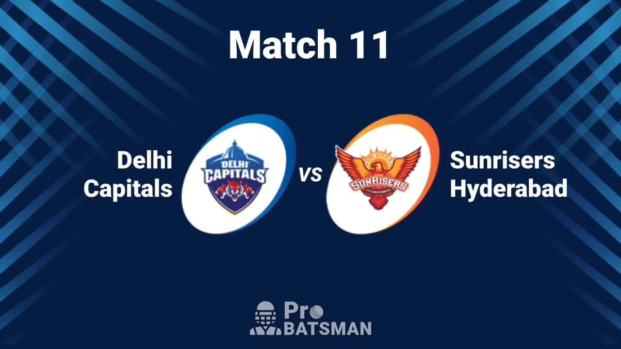 IPL 2020: Sunrisers Hyderabad (SRH) vs Delhi Capitals (DC) -- Match Details, Playing XI, Head to Head, Weather Forecast, Pitch Report – September 29, 2020