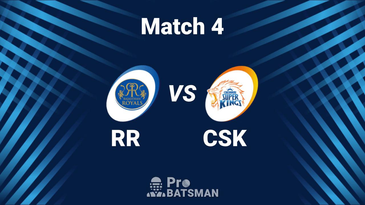 RR vs CSK Dream11 Team IPL 2020 Rajasthan Royals vs Chennai Super Kings - Playing XI, Captain, Vice-Captain, Pitch Report – September 22, 2020