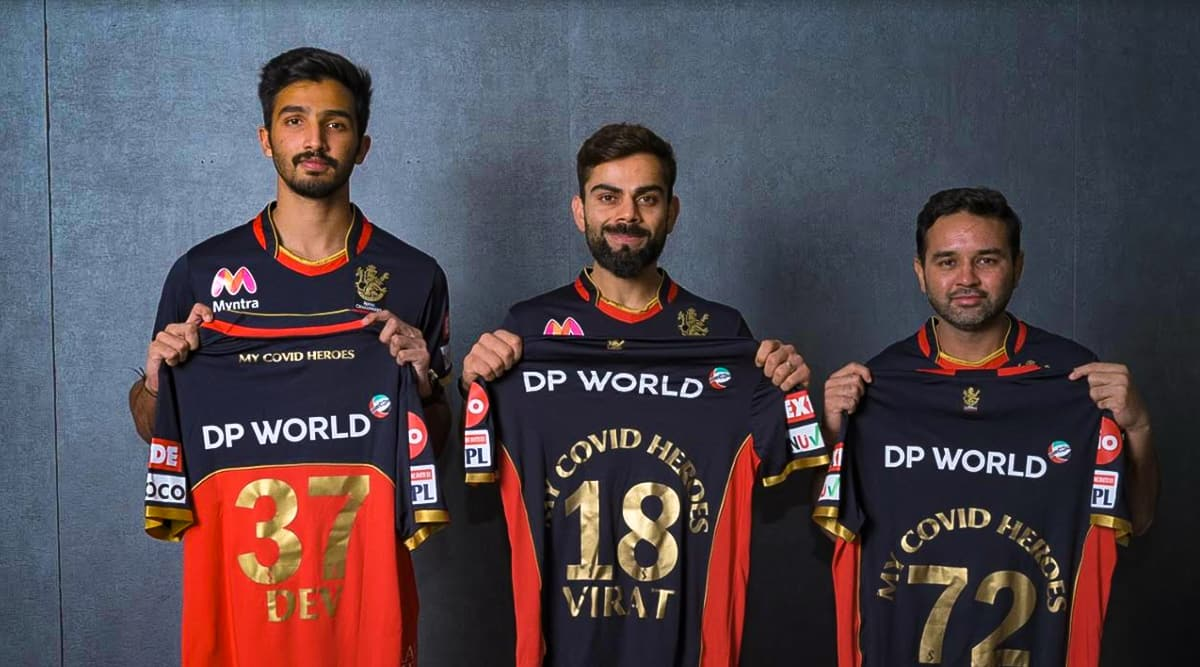 IPL 2020: RCB Players to Honour COVID Heroes by Wearing Tribute Jersey