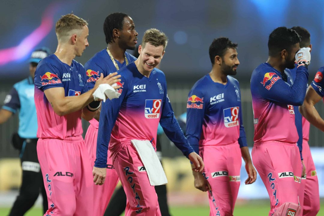 RR vs CSK, IPL 2020: Steve Smith led Rajasthan Royals Beats Chennai Super Kings by 16 Runs in the Thriller Match