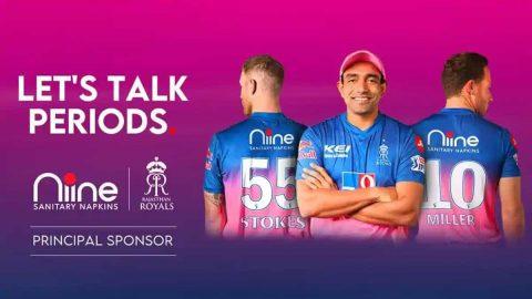 "IPL 2020: Rajasthan Royals Will Spread Awareness For ""Menstruation"""