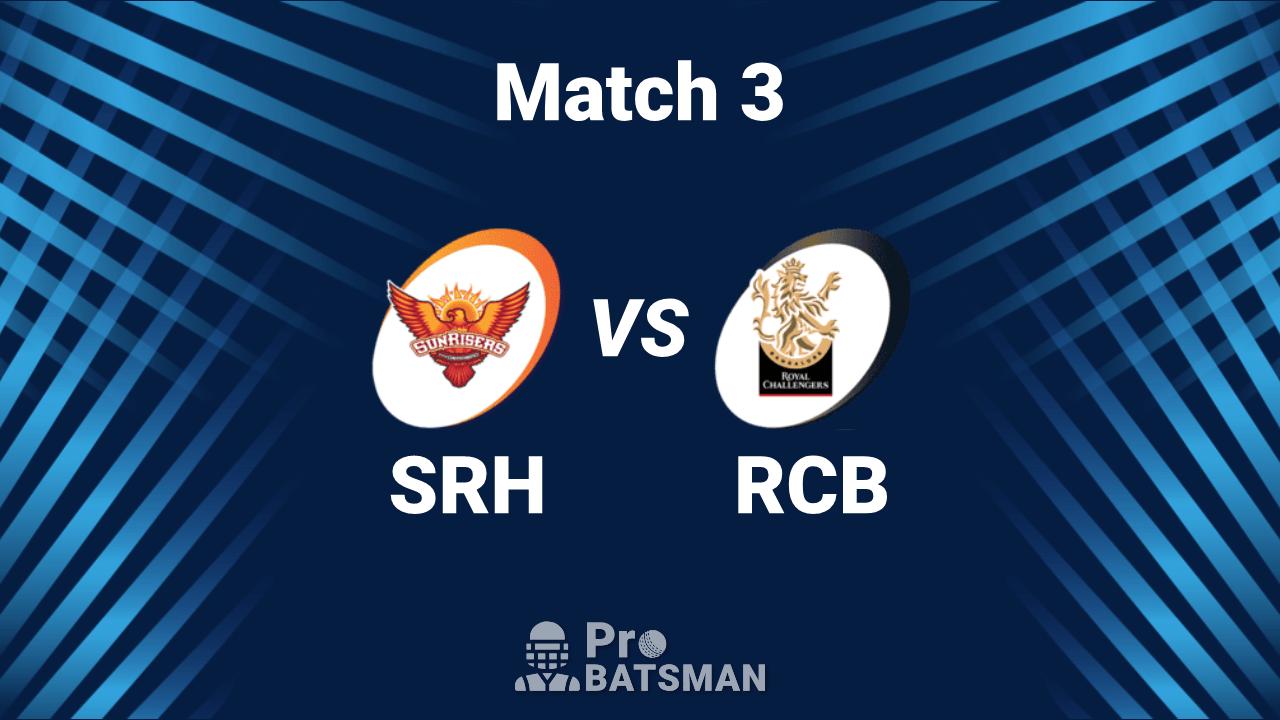 IPL 2020 Dream11 Predictions for RCB vs SRH Match 3 Fantasy Tips: Captain, Vice-Captain and Best Picks