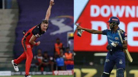 IPL 2020: Hardik Pandya, Chris Morris Reprimanded For Breaching Code of Conduct