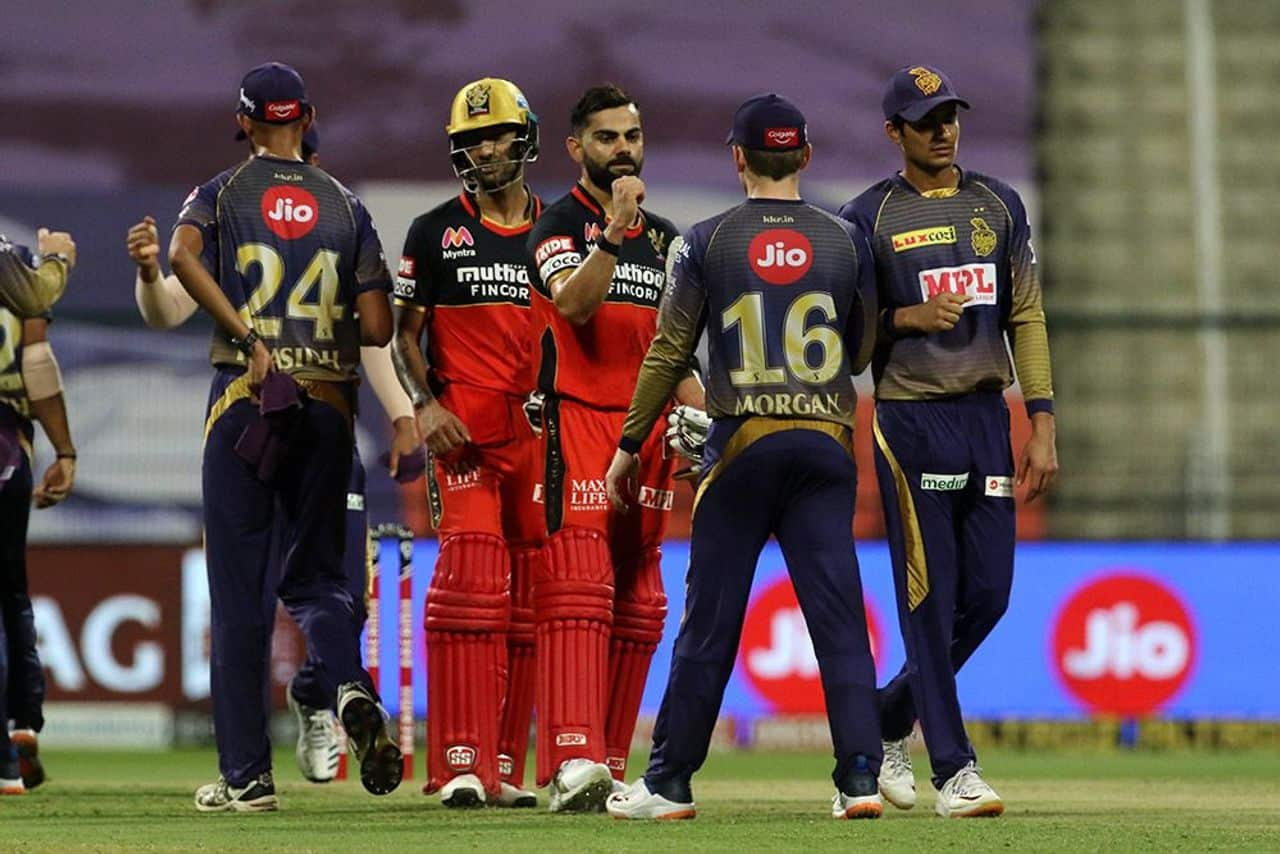 Kolkata Knight Riders Defeated Royal Challengers Bangalore by 8 Wickets