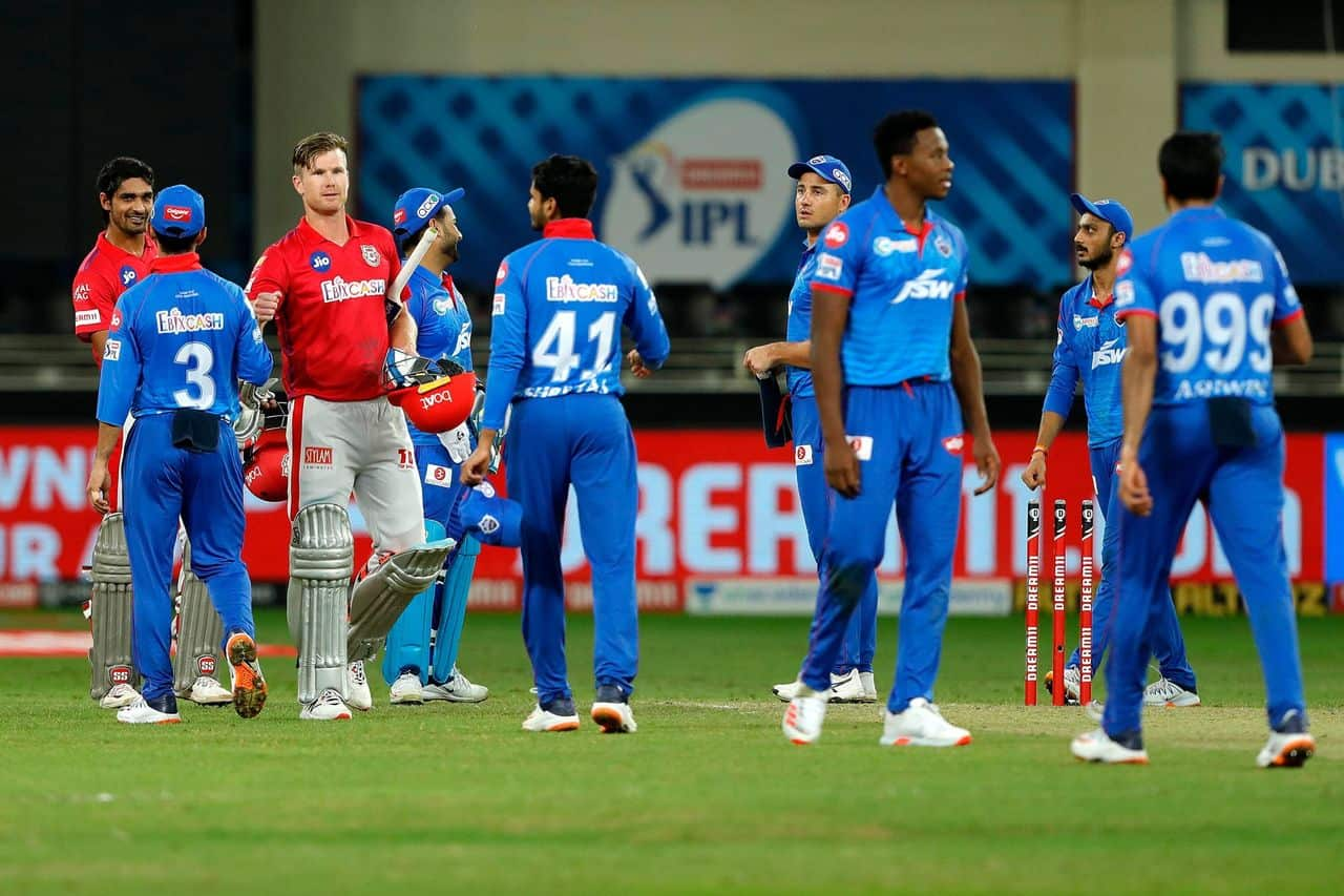 IPL 2020 – KXIP vs DC Highlights & Analysis Kings XI Punjab Defeated Delhi Capitals by 5 Wickets; Shikhar Dhawan's Second Consecutive Hundred in IPL