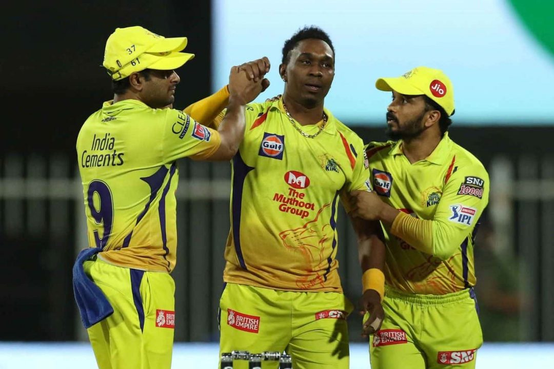 IPL 2020 Another Blow For CSK, Dwayne Bravo Likely to Get Ruled Out of Next Few Matches