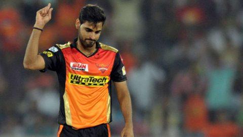 IPL 2020: Bhuvneshwar Kumar Ruled Out of IPL Due to Thigh Muscle Injury