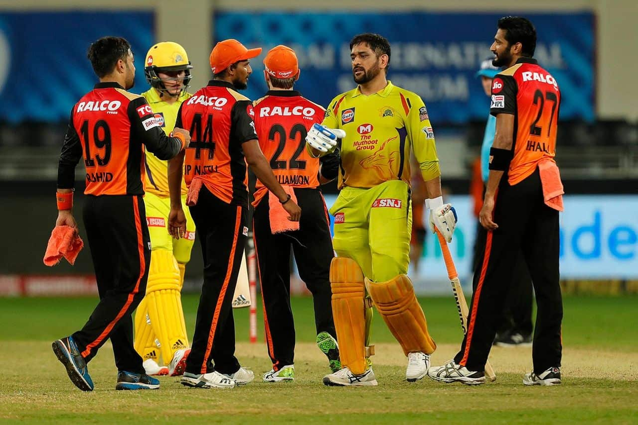IPL 2020 CSK vs RR, Dhoni's Combative Innings Didn't Work, Chennai Super Kings Lost to Sunrisers Hyderabad by 7 runs