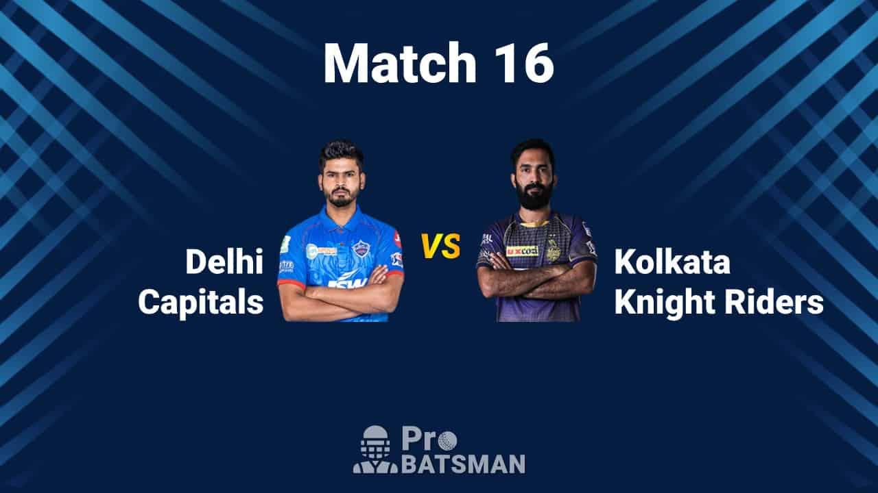IPL 2020: Delhi Capitals (DC) vs Kolkata Knight Riders (KKR) - Match Details, Playing XI, Squads, Pitch Report, Weather Forecast – October 3, 2020