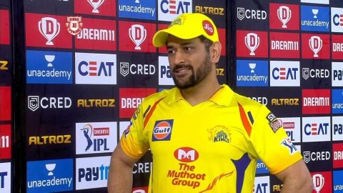 IPL 2020: Did The Small Things Right, Says MS Dhoni On The Team's Victory