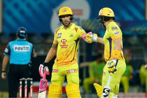 IPL 2020: Faf du Plessis and Watson's 181* run partnership, highest for any wicket for CSK