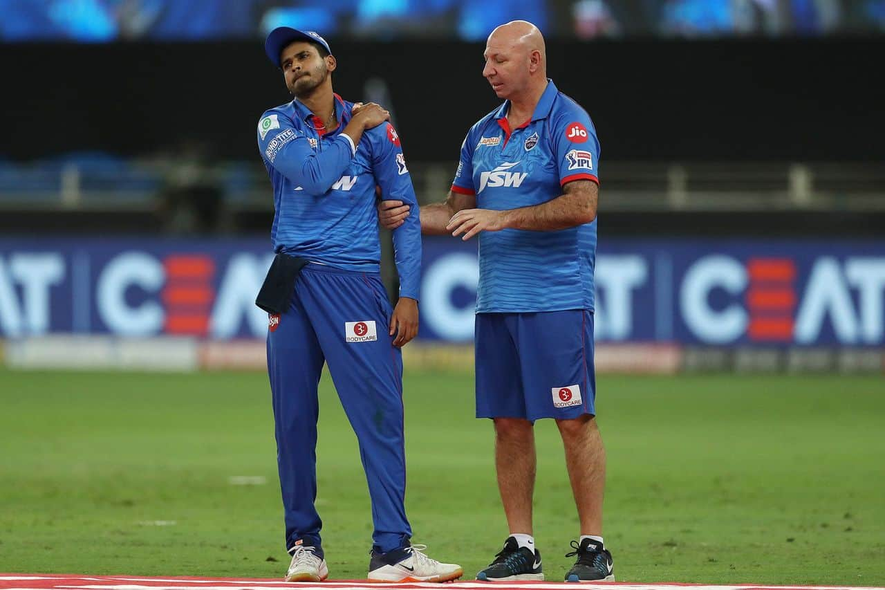 IPL 2020: He Is In Pain - Shikhar Dhawan Gave An Update On Shreyas Iyer