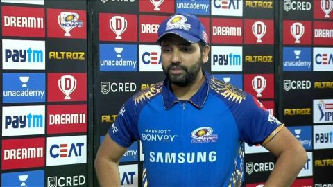 IPL 2020 It's Special to Chase And Win Rohit Sharma After Winning The Match Against KKR