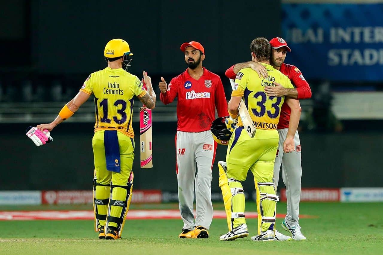 IPL 2020: KXIP vs CSK, Chennai Super Kings Defeated Kings XI Punjab by 10 Wickets, Watson and Faf du Plessis' Largest Opening Partnership for Chennai