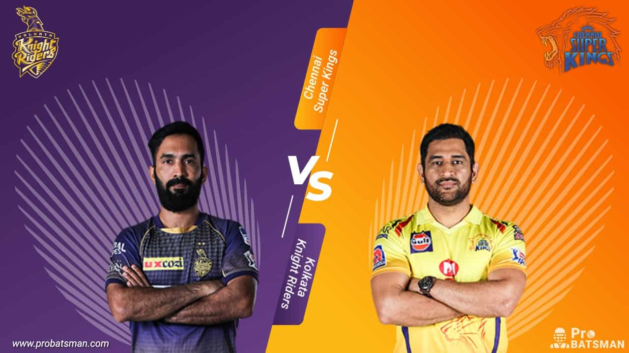 IPL 2020: Kolkata Knight Riders (KKR) vs Chennai Super Kings (CSK) - Match Details, Playing XI, Squads, Pitch Report, Head-to-Head – October 7, 2020