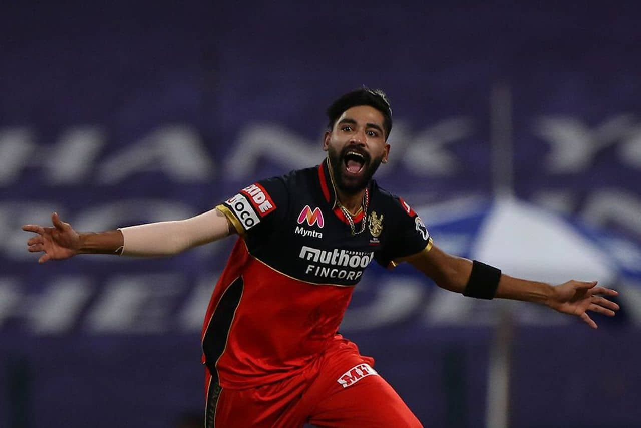 IPL 2020: Mohammed Siraj Becomes First Bowler To Bowl Two Maiden Overs In An IPL Match