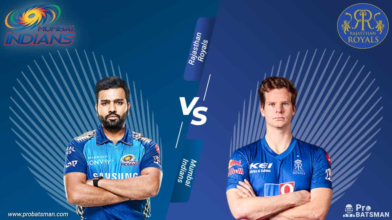 IPL 2020: - Mumbai Indians (MI) vs Rajasthan Royals (RR) -- Match Details, Playing XI, Squads, Pitch Report, Head-to-Head – October 6, 2020