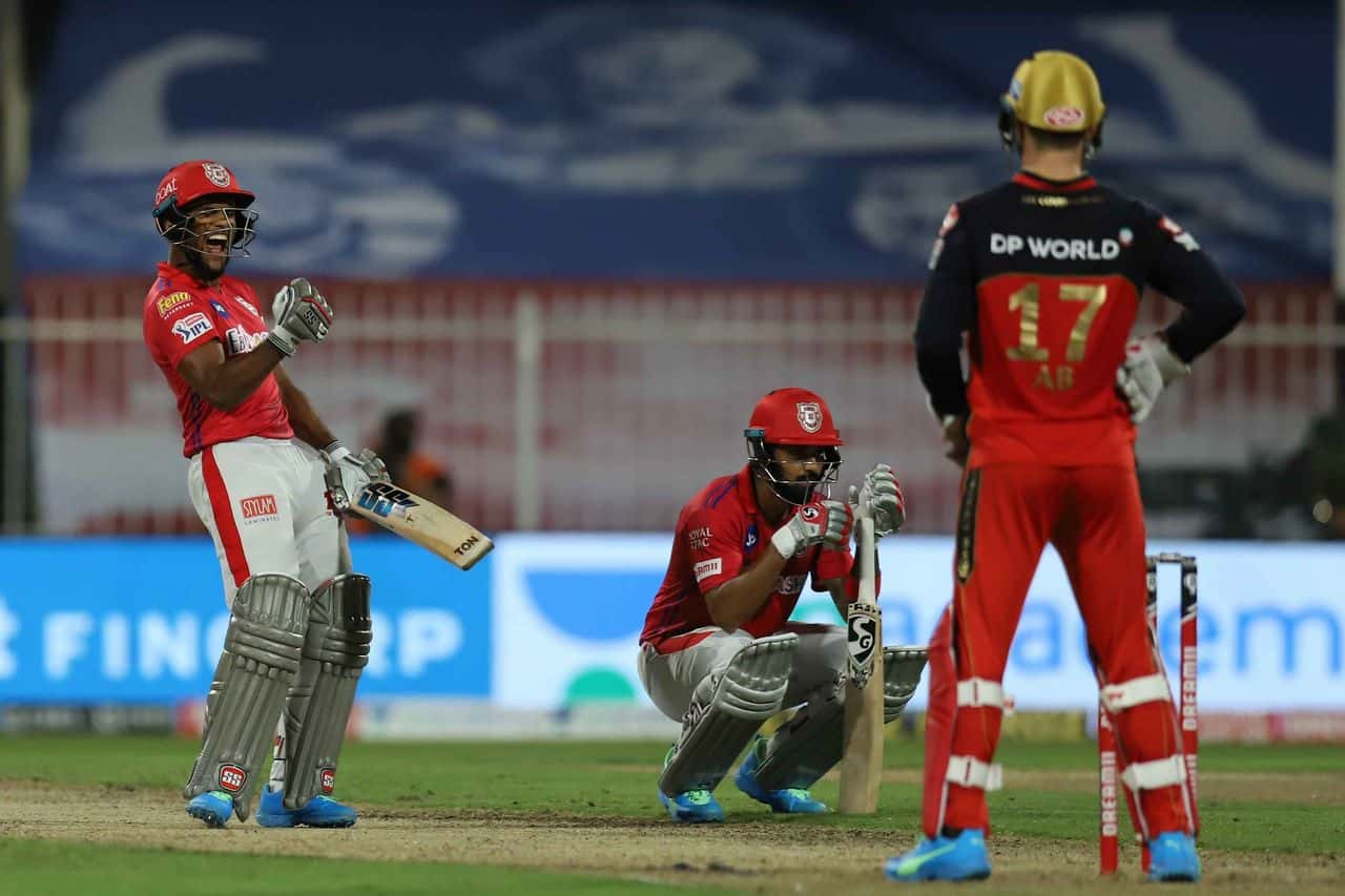 IPL 2020: RCB vs KXIP, Kings XI Punjab Defeated Royal Challengers Banglaore by 8 Wickets; First Win After 5 Consecutive Defeates for Punjab