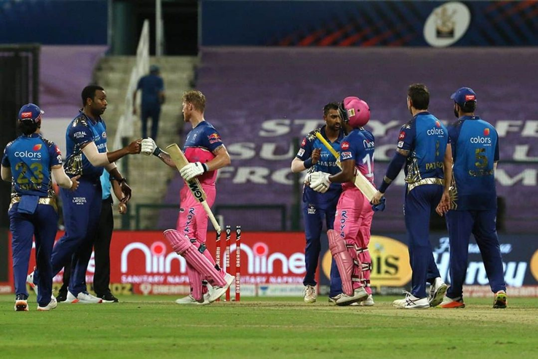 IPL 2020 – RR vs MI Highlights & Analysis: Rajasthan Royals Defeated Mumbai Indians by 8 Wickets; Ben Stokes Hits His Second IPL Hundred