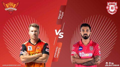 IPL 2020 SunRisers Hyderabad (SRH) vs Kings XI Punjab (KXIP) - Match Details, Playing XI, Squads, Pitch Report, Head-to-Head – October 8, 2020