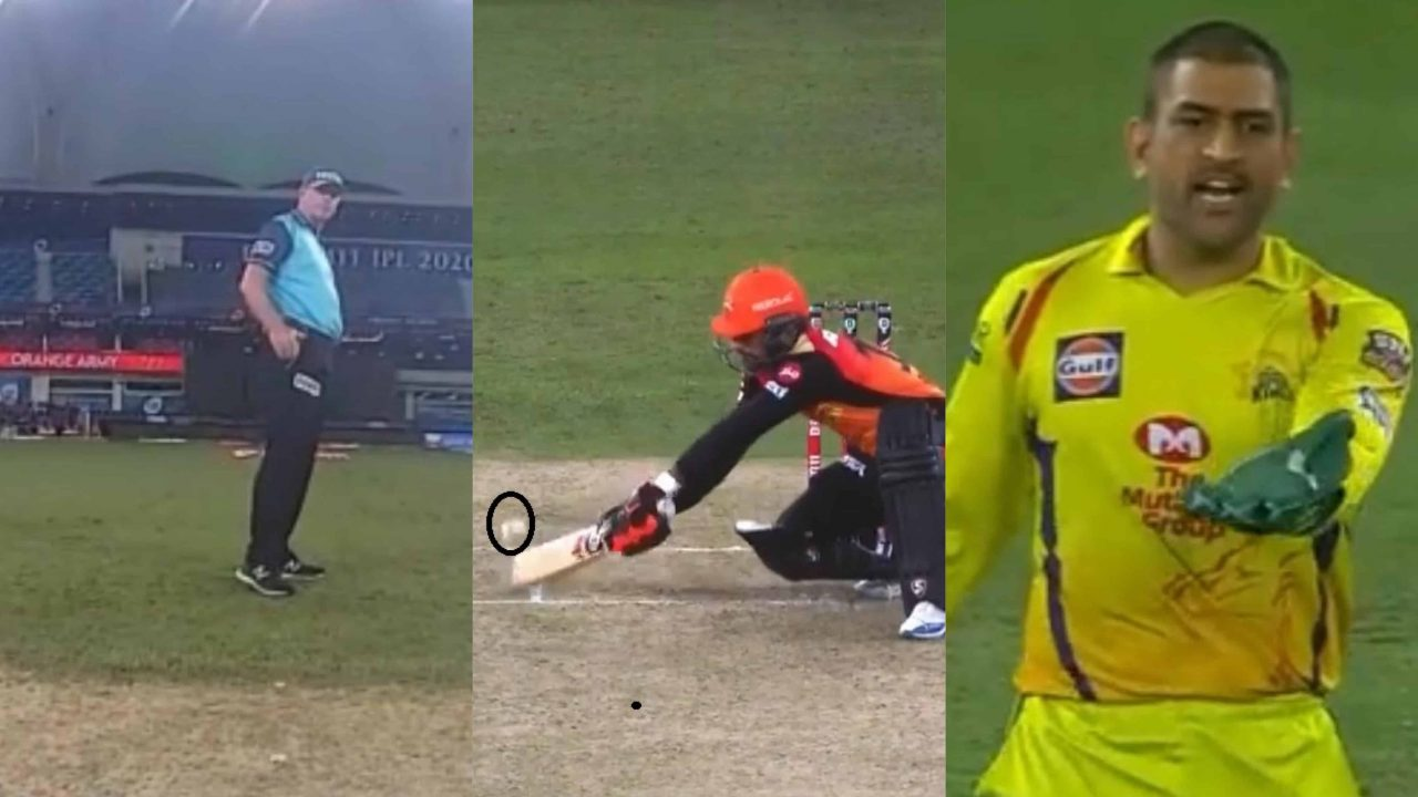 IPL 2020: Umpire Paul Reiffel Changes Wide Ball Decision Midway After MS Dhoni's Reaction