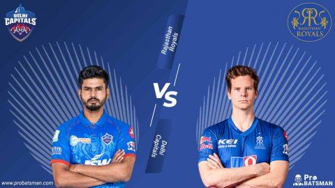 IPL 2020 DC vs RR Dream 11 Fantasy Team: Delhi Capitals vs Rajasthan Royals, Probable Playing XI, Pitch Report, Captain, Head-to-Head, Squads, Match Updates - October 14, 2020