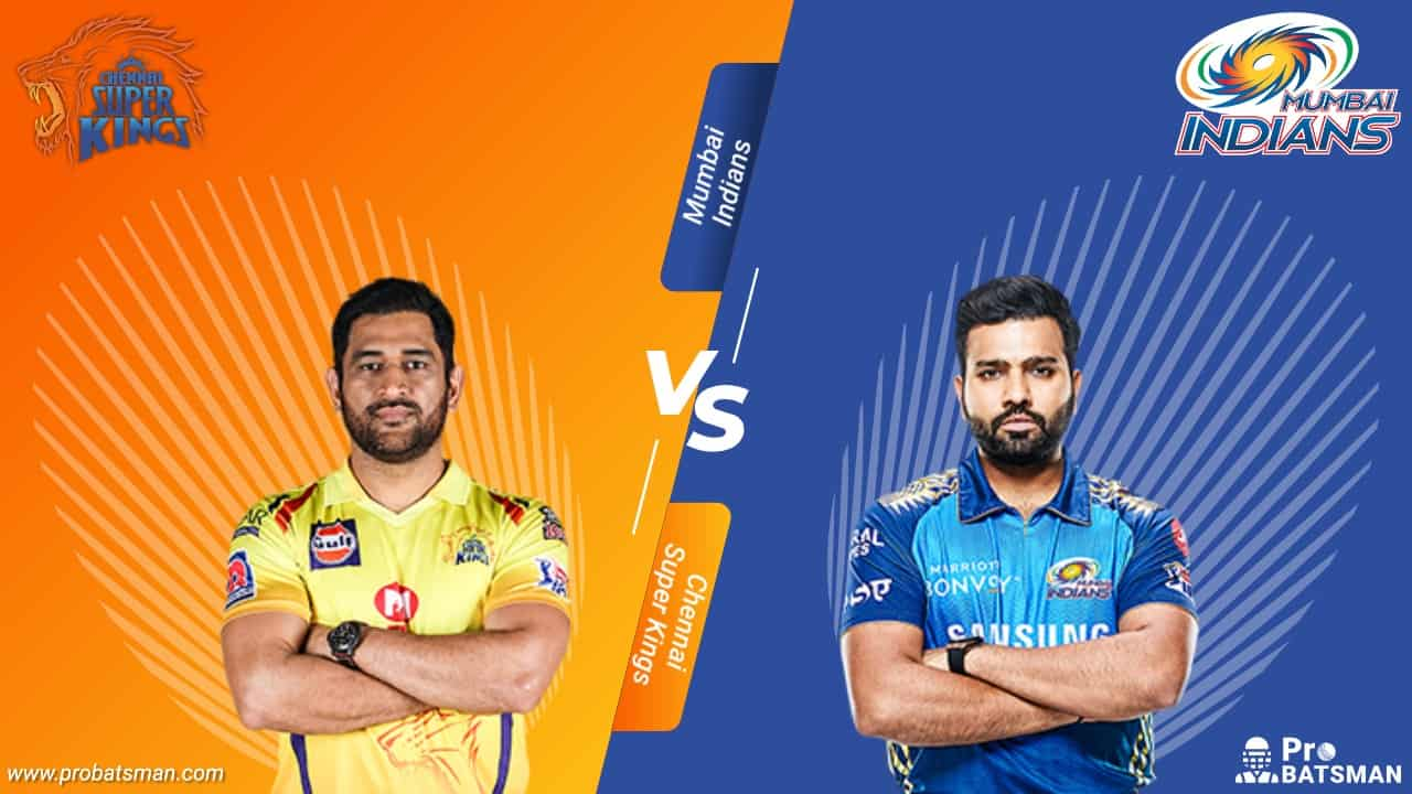 CSK vs MI Dream 11 Fantasy Team Probable Playing 11, Pitch Report, Weather Forecast, Captain, Head-to-Head, Squads