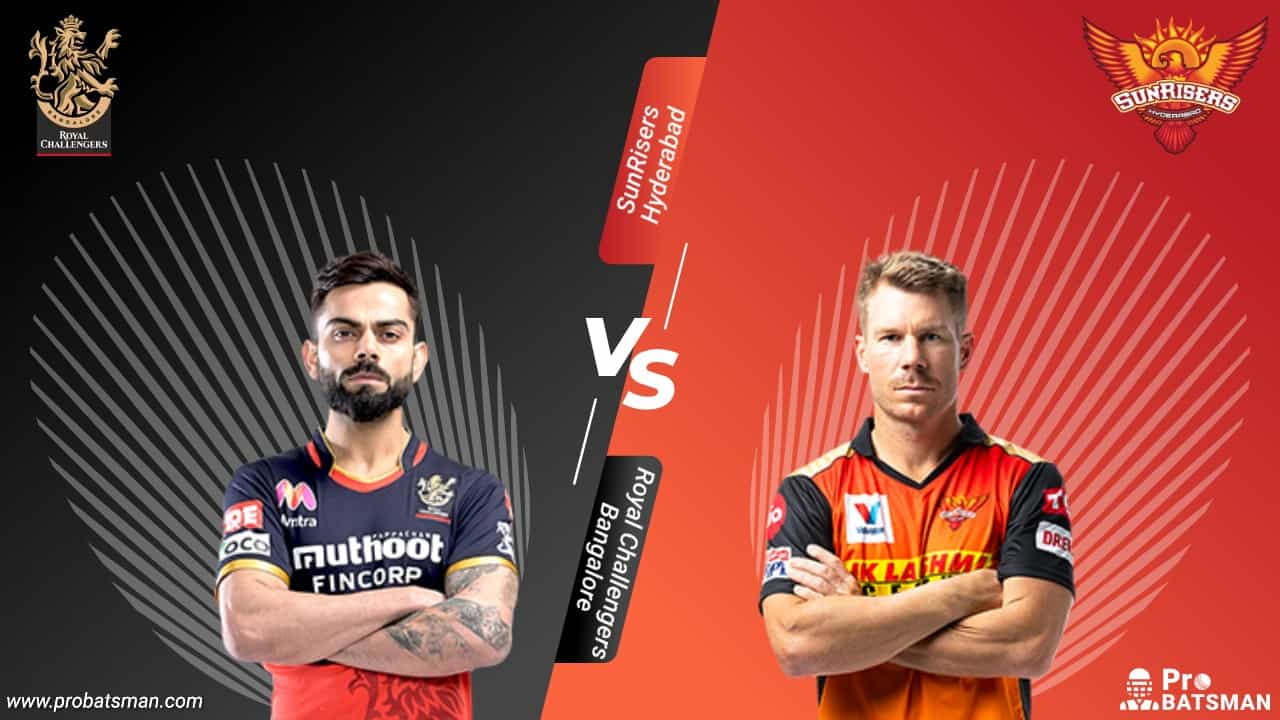 IPL 2020 RCB vs SRH Dream 11 Fantasy Team: Royal Challengers Bangalore vs SunRisers Hyderabad, Probable Playing 11, Pitch Report, Weather Forecast, Captain, Head-to-Head, Squads, Match Updates