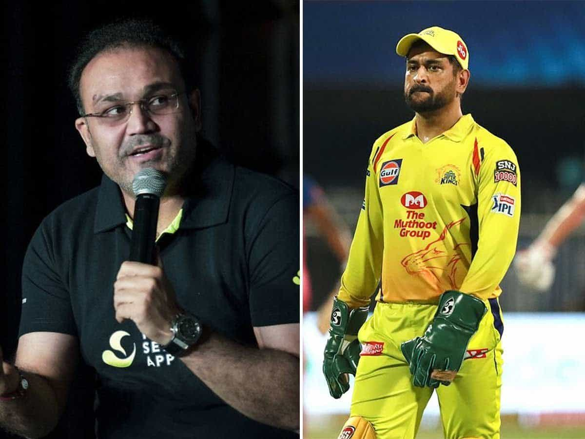 Only One Person Could Save SRH Team From MS Dhoni And That Person Was Dhoni Himself Virender Sehwag