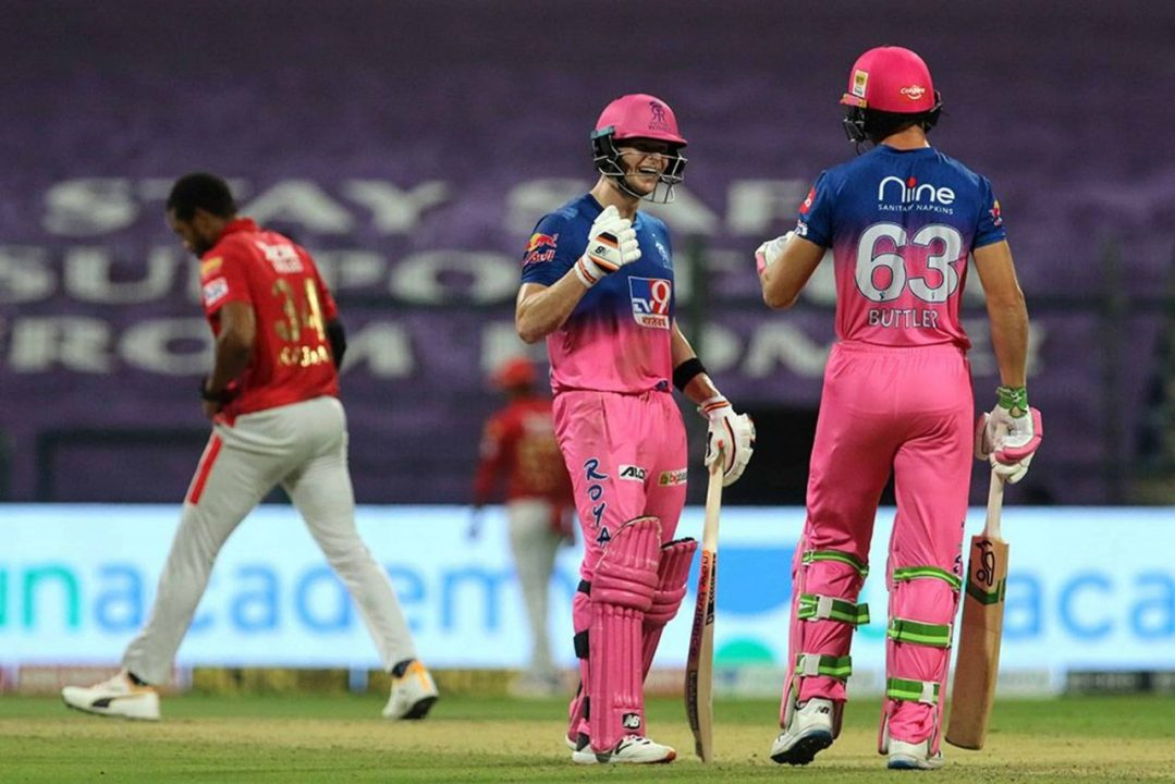 IPL 2020 – KXIP vs RR Highlights & Analysis: Rajasthan Royals Defeated Kings XI Punjab by 6 Wickets, Gayle Missed Century by 1 Run