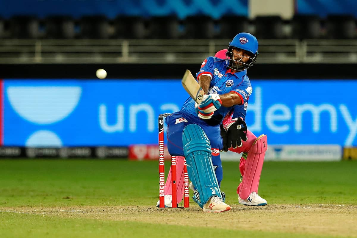 Shikhar Dhawan's 39th Fifty in The IPL
