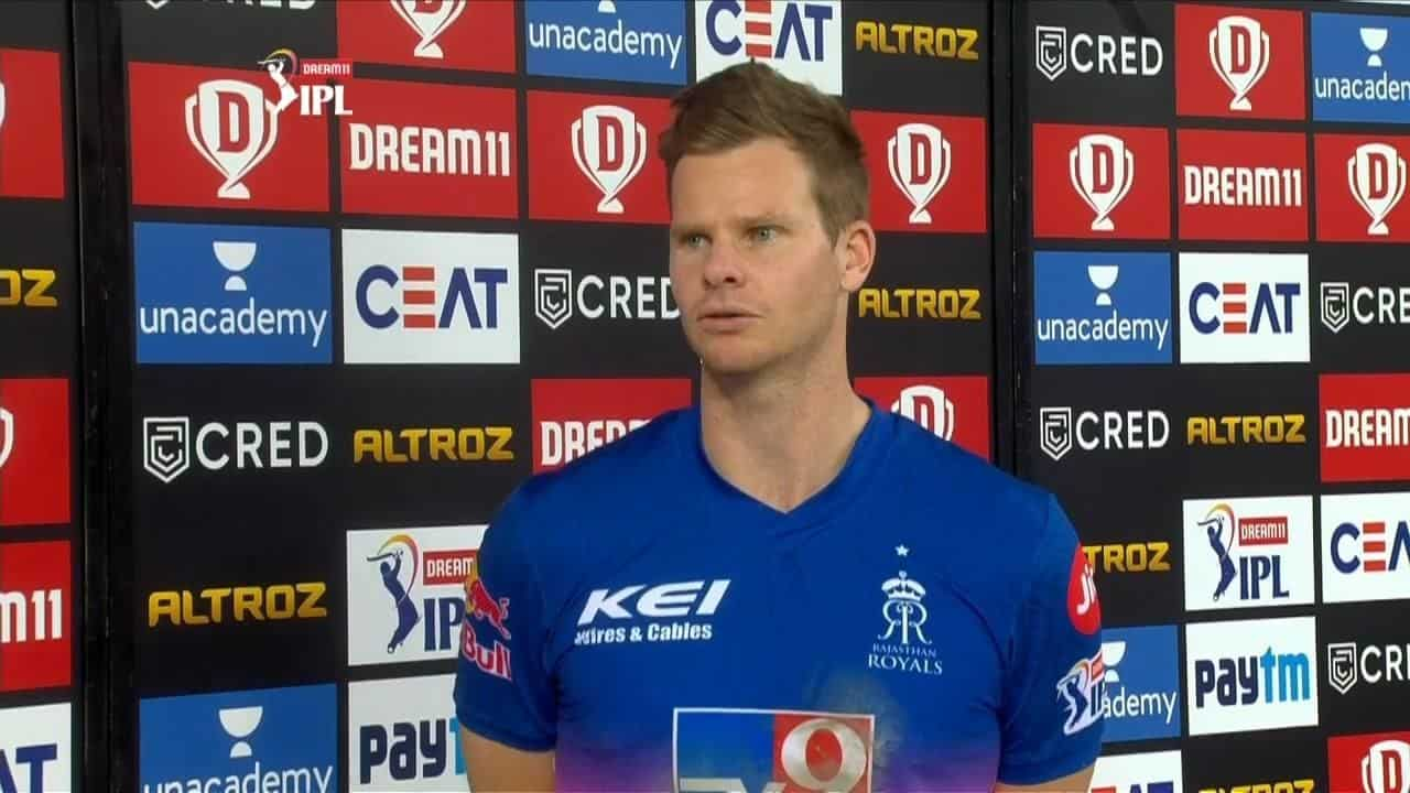 Steve Smith Hails The Duo of Rahul Tewatia and Riyan Parag For Their Match- Winning Stand