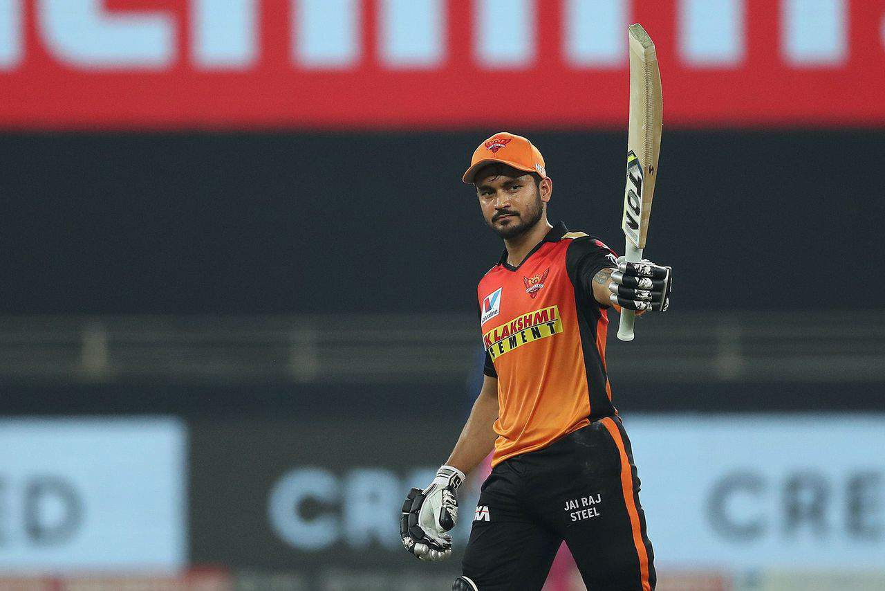 IPL 2020 RR vs SRH, Match 40 – Who Said What: There Were Enough Talks Around Our Middle Order, High Time For us to Perform - Manish Pandey
