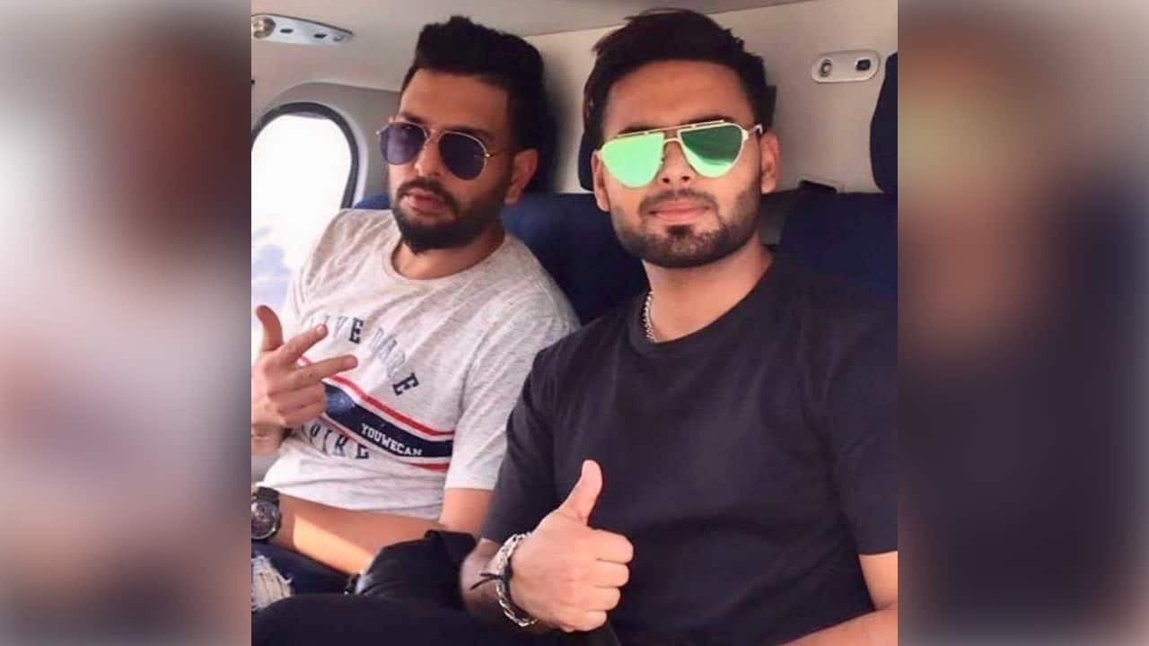 Yuvraj Singh Wishes Young Cricketer Rishabh Pant With a Congratulatory Message on Instagram on his Birthday