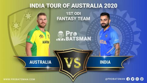 AUS vs IND 1st ODI Dream 11 Fantasy Team Prediction, Probable Playing 11, Pitch Report, Weather Forecast, Squads, Match Updates – November 27, 2020