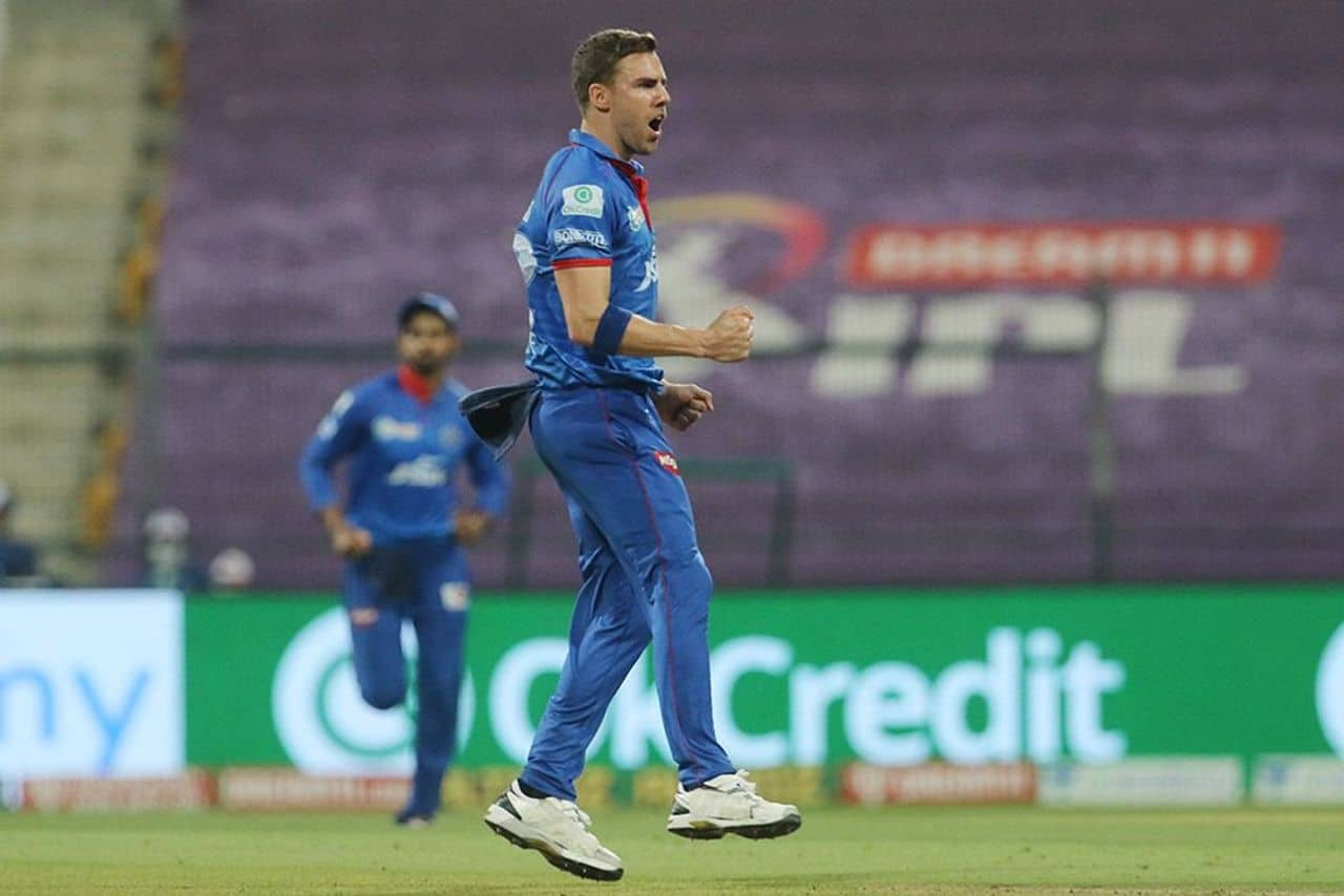 Anrich Nortje - Man of the Match Against RCB for 3/33.