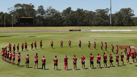 IND vs AUS: Australia Cricketers To Make 'Barefoot Circle' as Anti-Racism Statement Ahead of 1st ODI
