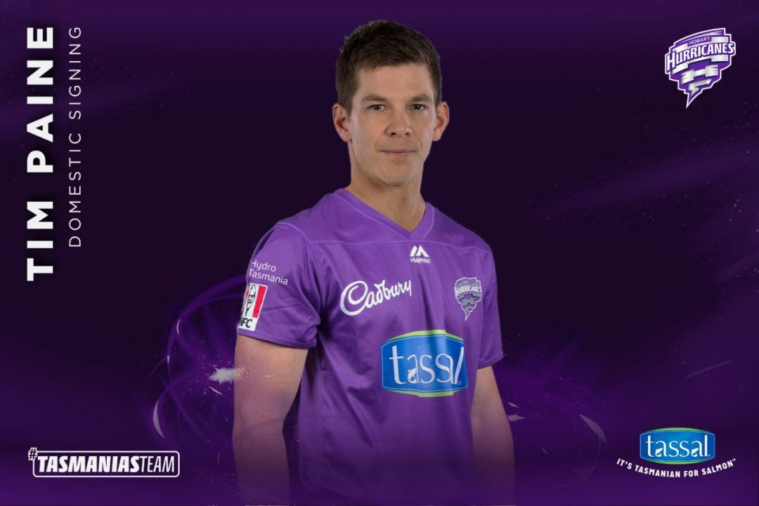 BBL Hobart Hurricanes Signs Tim Paine For The Upcoming Edition of Big Bash League